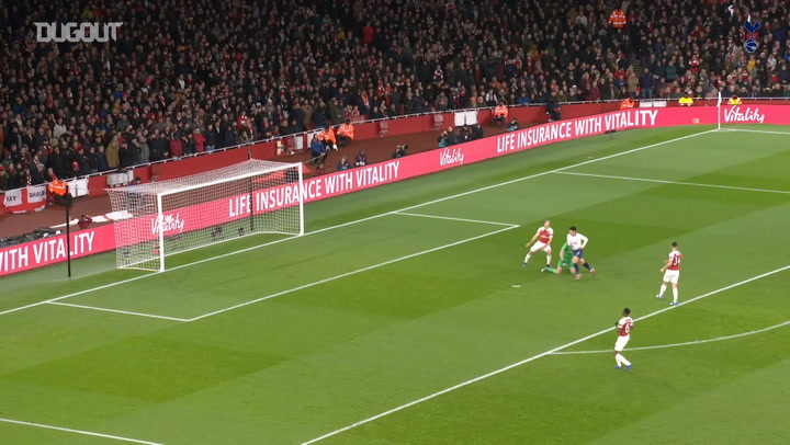 Heung-Min Son opens the scoring vs Arsenal