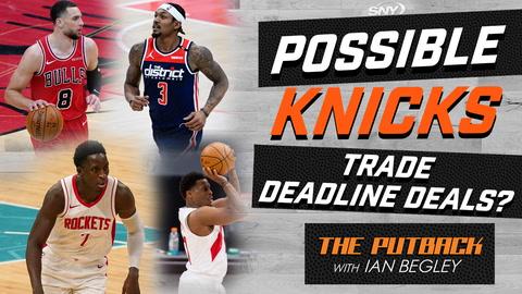The Putback with Ian Begley: Possible Knicks deals ahead of 2021 NBA trade deadline