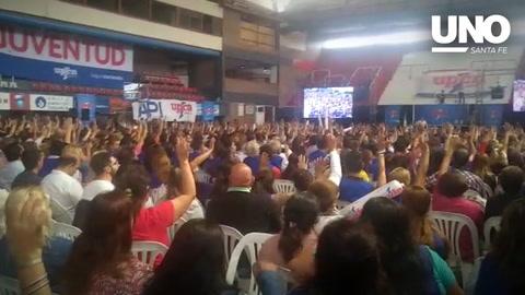 Paritarias 2018: viralizan el video de una votación en UPCN