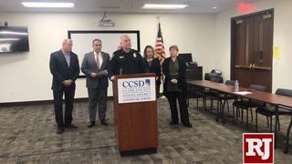 Clark County Schools announce random searches
