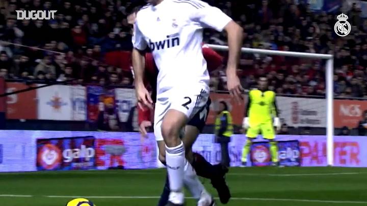 Best Defenders: Álvaro Arbeloa