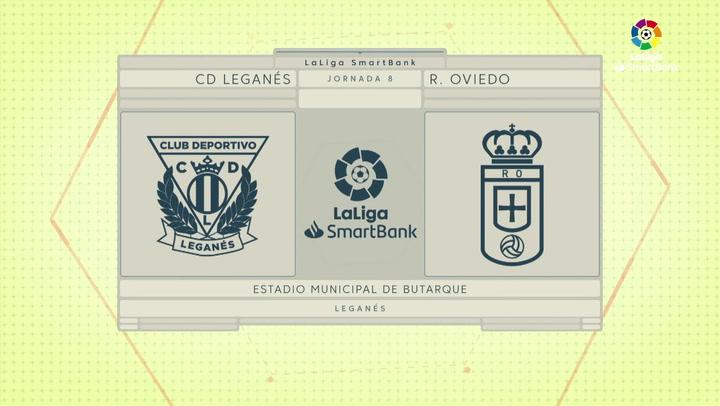 LaLiga SmartBank (J8): Leganés 2-1 Oviedo