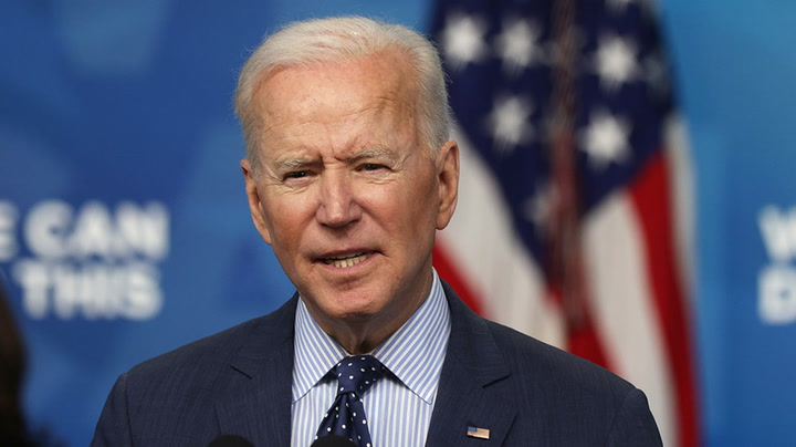 Watch live as Joe Biden delivers remarks on May jobs report