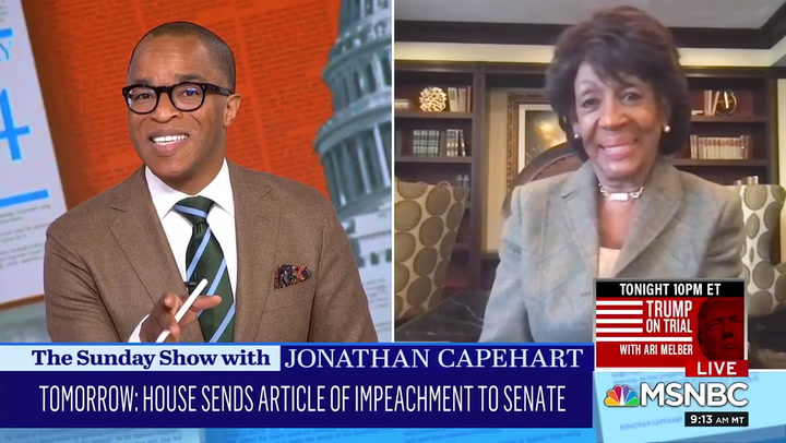 Waters: Trump Will 'Take over Legislatures, Little Towns and Cities' If He Is Not Convicted for Insurrection