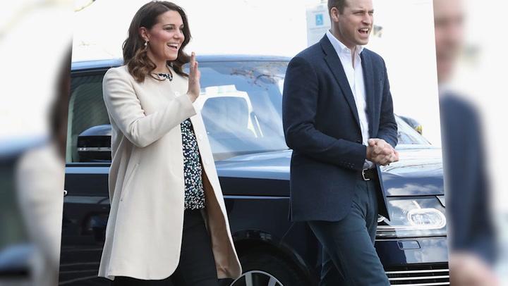 La Duquesa de Cambridge, cariñosa y maternal en sus últimos actos antes de la baja por maternidad