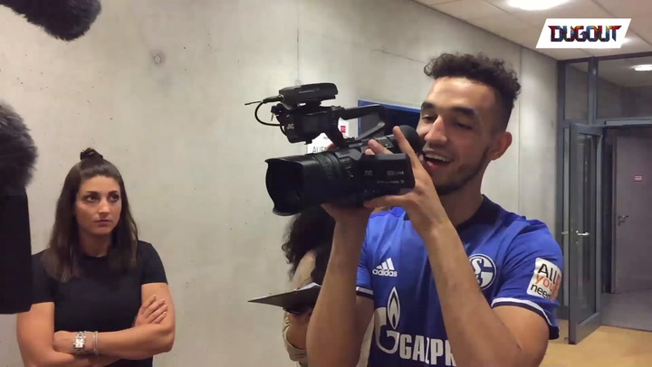 Nabil Bentaleb Turns Cameraman!