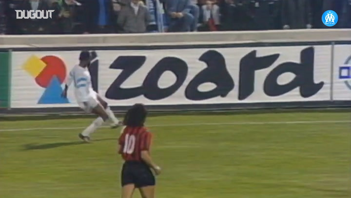 Chris Waddle's magic volley vs Milan AC