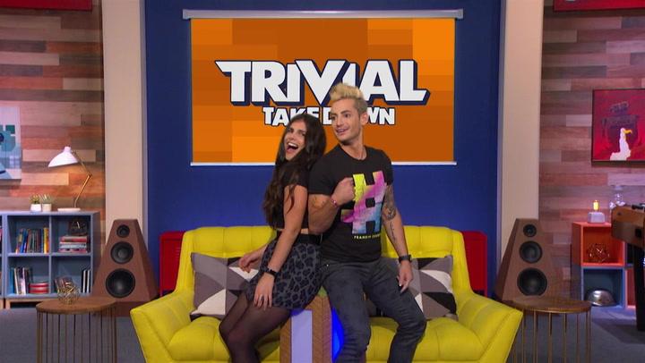 Justine Marino and Frankie Grande's Twerk Tastic Battle: Trivial Takedown Sneak Peek