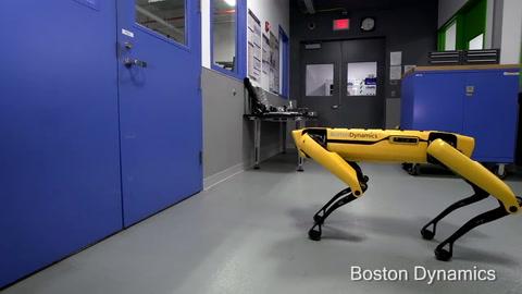 Cómo es el nuevo robot cuadrúpedo que abre puertas y organiza un escape