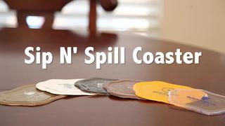 Sip-N' Spill Coaster