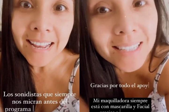 Tula revela que maquilladora y sonidistas que tuvieron contacto con ella dieron negativo a Covid-19