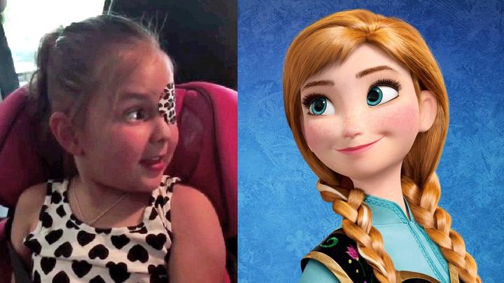 Dødssyk jente fikk drømmebeskjed fra «Frost-Anna»