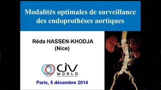 Modalités optimales de surveillance d'une endoprothèse aortique