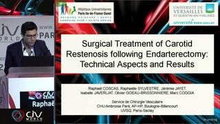 Traitement chirurgical de la resténose post-endartériectomie : techniques et résultats