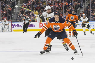 Golden Edge: Oilers Beat The Knights 4-3