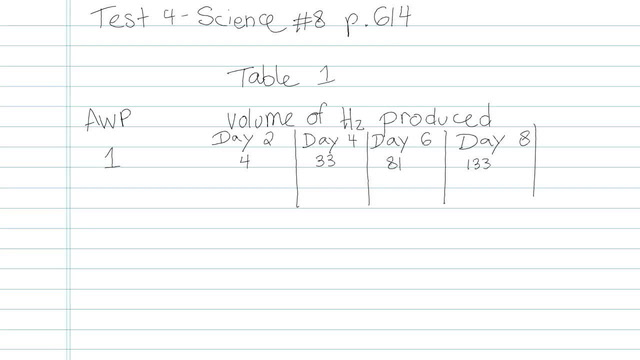 Test 4 - Science - Question 8