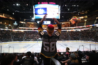 Knights Fans Excited For Watch Party At T-mobile