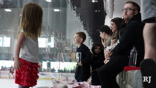Fans Turn Out For Golden Knights Practice