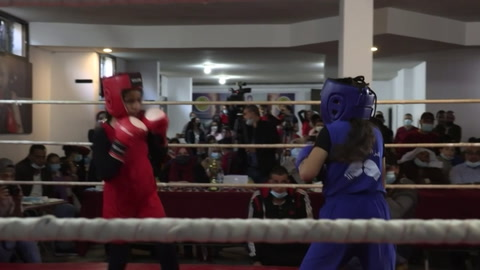 Un primer torneo de boxeo 100% femenino en Gaza
