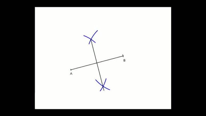 Matte: Hvordan konstruere midtnormal