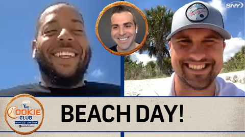 The Cookie Club: It's beach day with Dom Smith and J.D. Davis