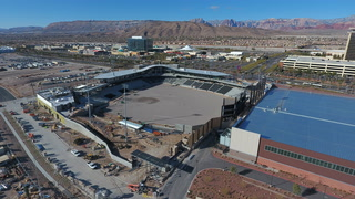 Las Vegas Ballpark taking shape