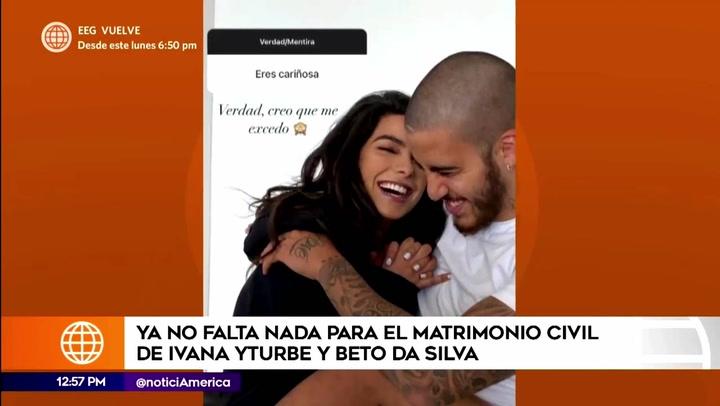 Ivana Yturbe sorprende a sus fans revelando detalles de su matrimonio con Beto da Silva