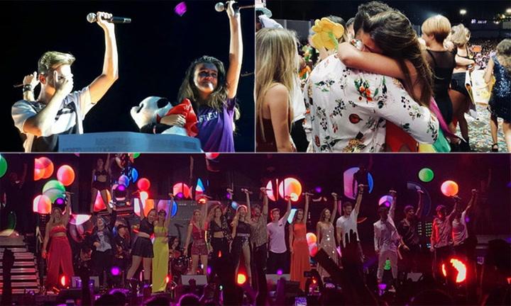 ¡Adiós a la gira de OT 2017! Los triunfitos se despiden entre lágrimas y con un invitado sorpresa