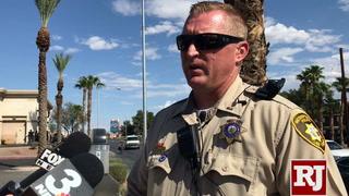 Police briefing on Boulder HWY shooting