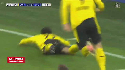 Dortmund 1-2 Manchester City (Champions League)