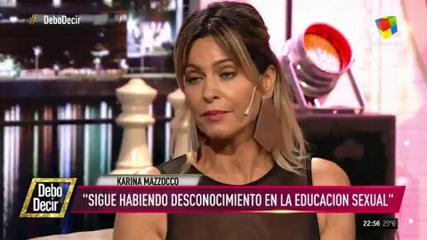 Karina Mazzocco denunció que sufrió acoso de Pettinato