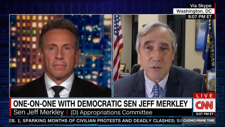 Merkley: I Hope Breyer Won't 'Let His Seat Be Subject to a Potential Theft'