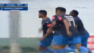 Pereira anota de cabeza el empate para Motagua ante Juticalpa