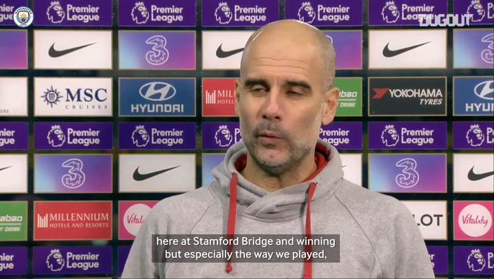 Guardiola: 'We were back like we were two or three seasons ago'