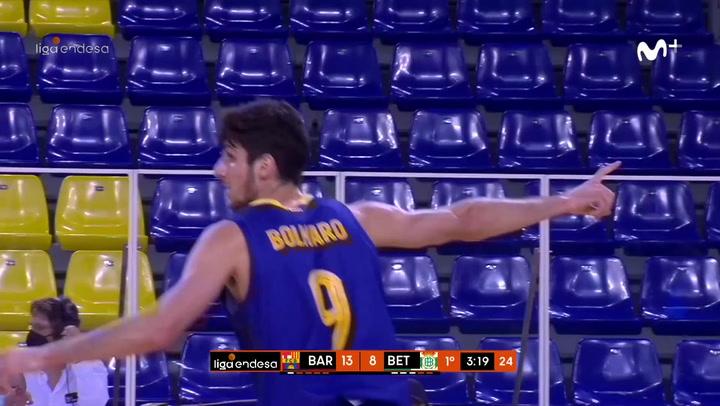 La gran actuación de Leandro Bolmaro ante el Betis