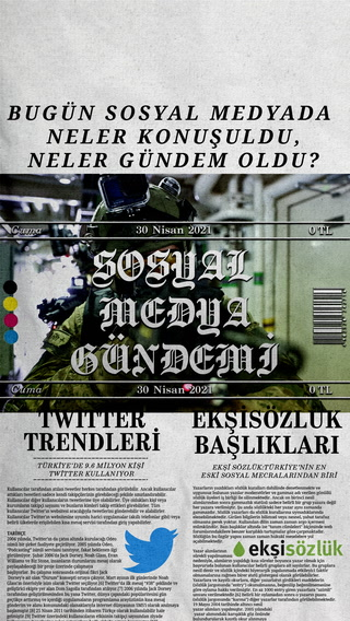 Sosyal medyayı sallayanlar - 30 Nisan