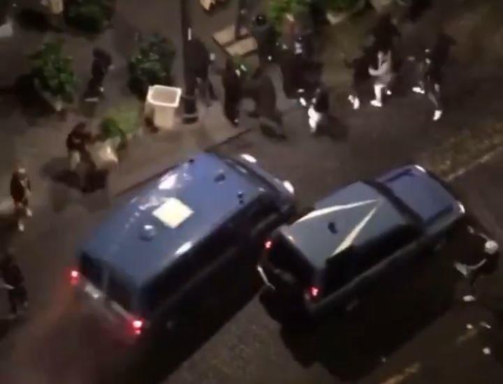 Incidentes y descontrol en Nápoles por el toque de queda
