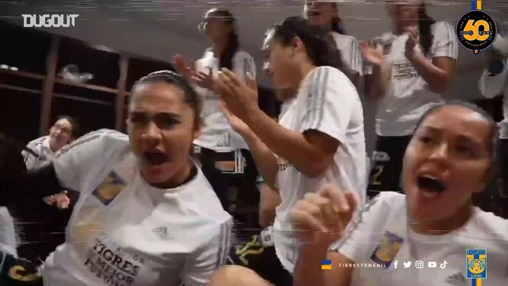 El primer campeonato de Tigres Femenil