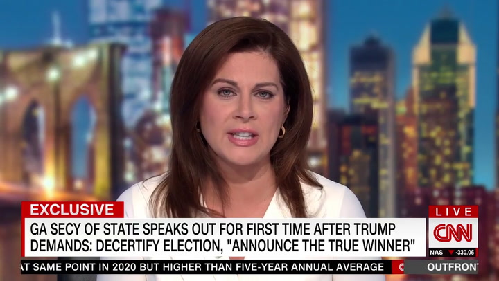 Raffensperger: Trump Knows 'He Lost' the Election Because His Lawyers Told Him