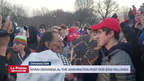 Nicolas Sandmann demanda al The Washington Post por $250 millones por difamación