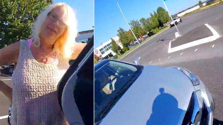 Mor til sønn: «Kjør forsiktig!» – så kjører hun på ham