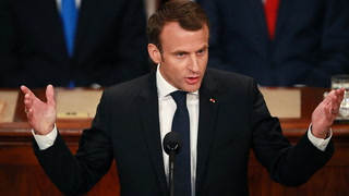OOPS: Macron misquotes this famous US president in speech to Congress