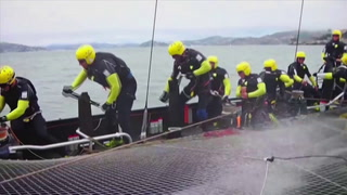 Teamwork and tech lead to digital signage sucess at America's Cup