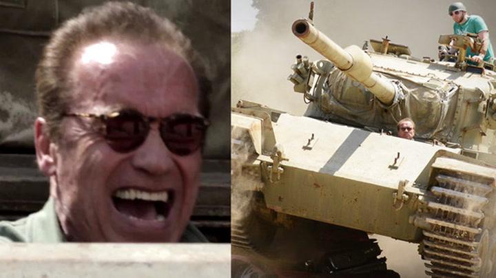 Heldig fan fikk drømmedag med Arnold