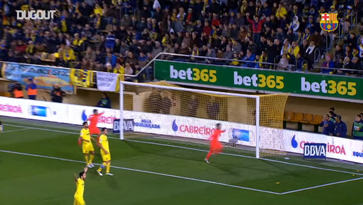 Neymar double and Luis Suarez seal win vs Villarreal in 2015