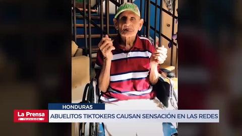 Abuelitos tiktokers hondureños causan sensación en las redes
