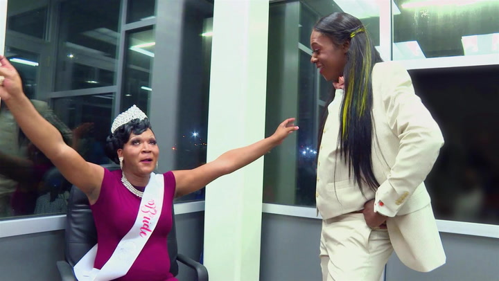 Big Freedia and Katey Red's Touching Moment at Katey's Wedding