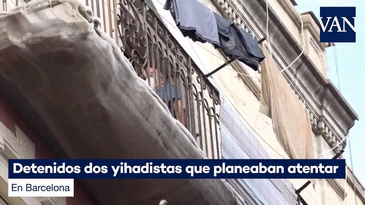 Detenidos dos yihadistas que planeaban atentar en Barcelona