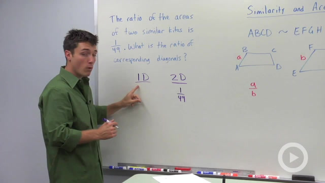 Similarity and Area Ratios - Problem 1
