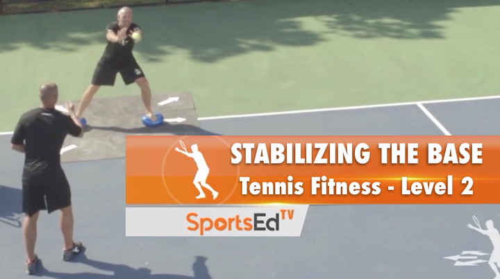 Stabilizing The Base - Tennis Fitness Level 2
